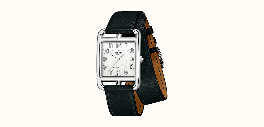 エルメス メンズ 時計 ケープコッド 画像
