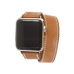 エルメス アップルウォッチ Apple Watch series 2 38mm 茶ベルト 画像