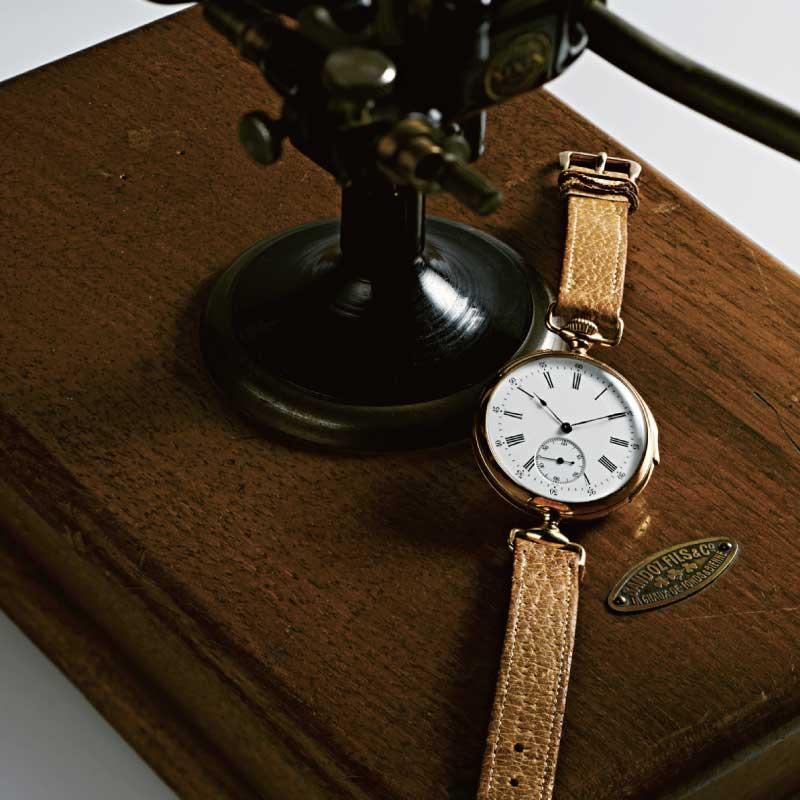 ミニッツリピーター機能付きの腕時計画像