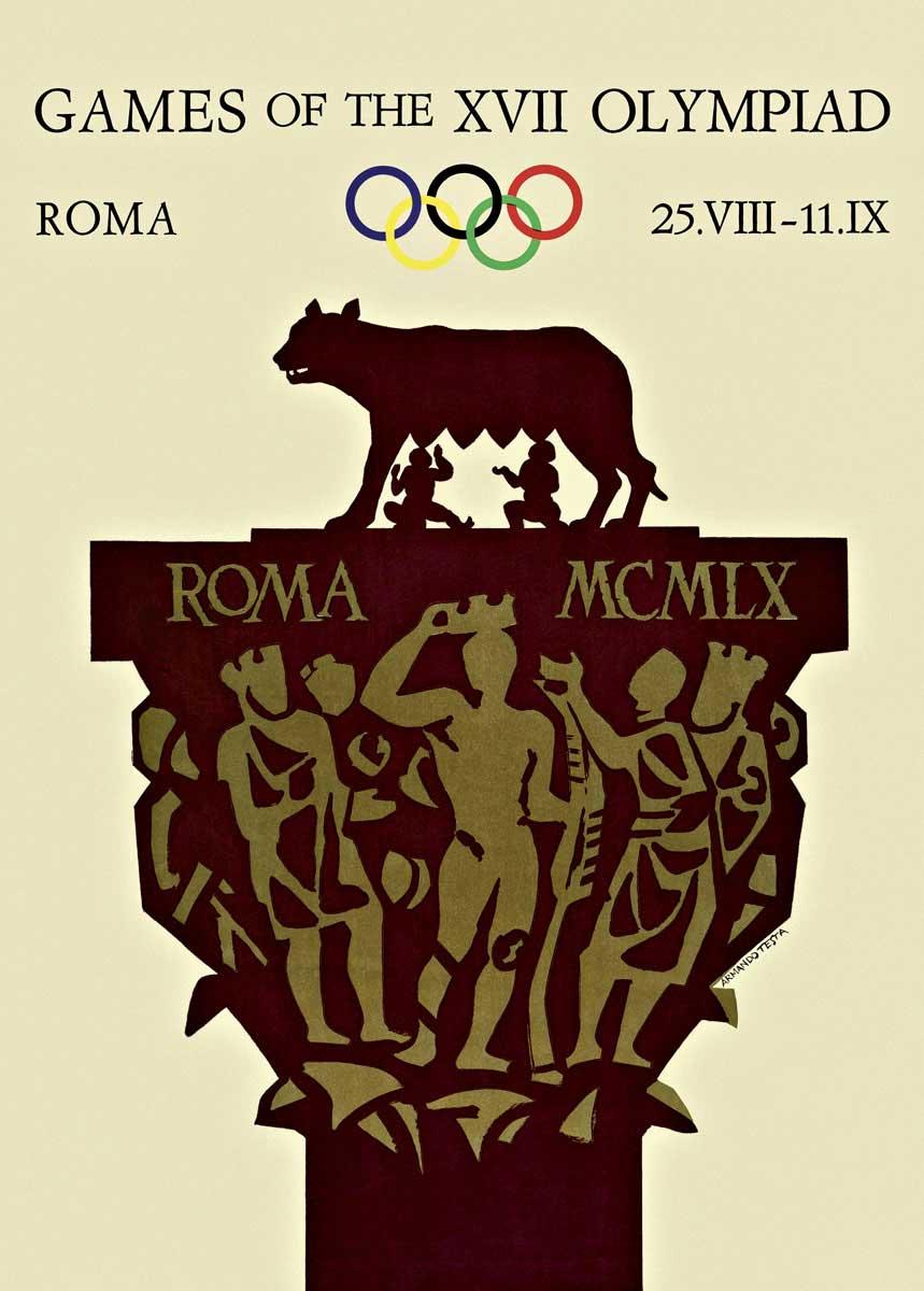 ローマオリンピック画像