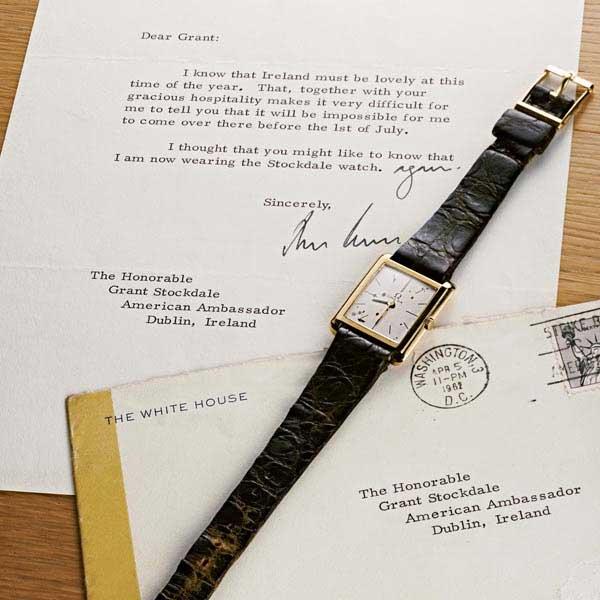 ケネディが大統領就任式で着用 画像