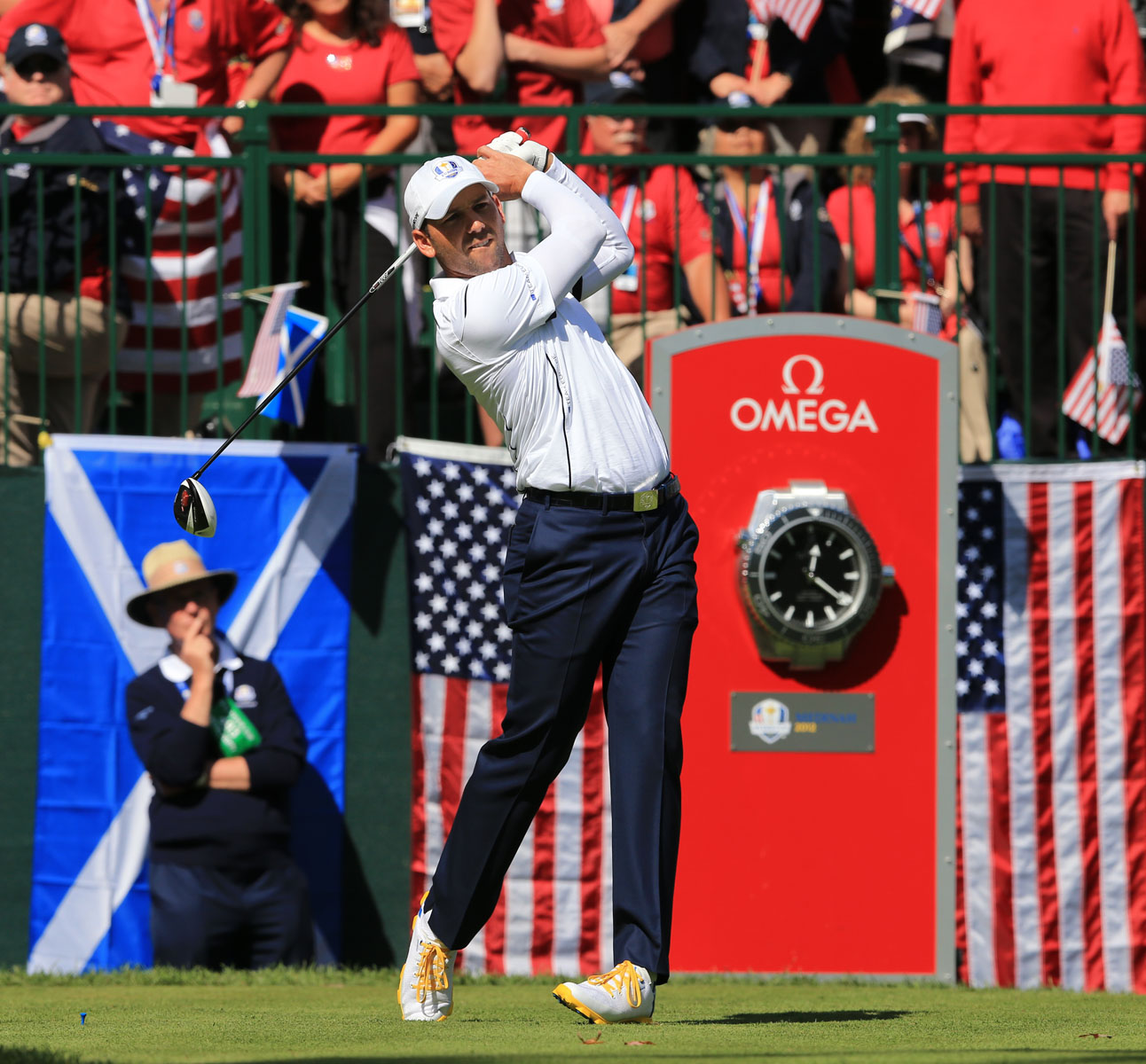 全米プロゴルフ協会(PGA)のオフィシャルタイムキーパー画像