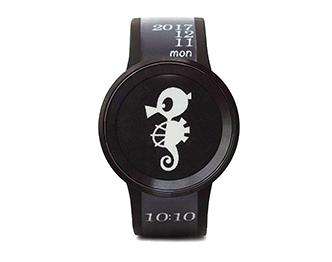 ソニー 時計 FES Watch U Premium Black タツノコプロ55周年 記念別注品 FES-WA1-C01/B 画像